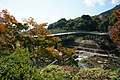Aiaibashi Bridge and Jobaru River above.jpg