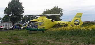 Essex & Herts Air Ambulance - G-SSXX: operated between 2003 and 2010