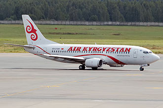 Air Kyrgyzstan - Boeing 737-300 (EX-37301) in current livery of Air Kyrgyzstan