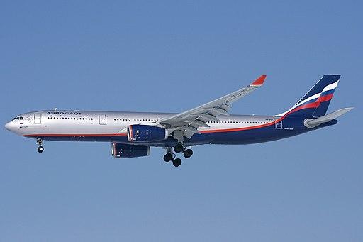 Airbus A330-343E, Aeroflot JP7337732