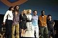 Aisha Tyler, Jason Momoa, Amber Heard, Nicole Kidman, Patrick Wilson, Yahya Abdul-Mateen II & James Wan (42867440755).jpg