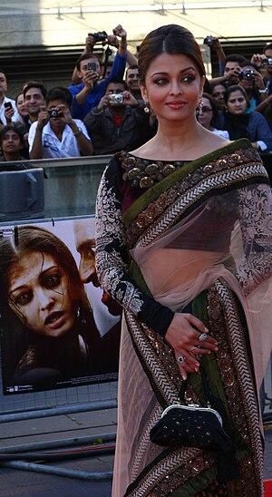 aishwarya at London primiere of Raavan