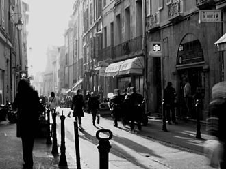 Aix-en-Provence - Rue Espariat in Aix-en-Provence.