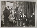 Akseli Gallen-Kallela with Mascha Heiroth, Dr. Perrit, Sigurd Wettenhovi-Aspa, Emil Wikström and a child in Helsinki, 1919; photograph 1. (14728929125).jpg
