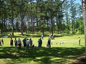 Alamance Battleground - Historical reenactment at the Alamance Battleground, 2008
