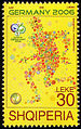 Albania 2006 30 L stamp - FIFA World Cup.jpg