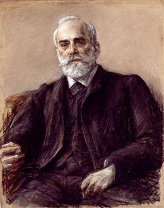 Albert Hänel - Albert Hänel painted by Max Liebermann