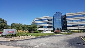 Aleris - The company's headquarters in Beachwood, Ohio, in 2016