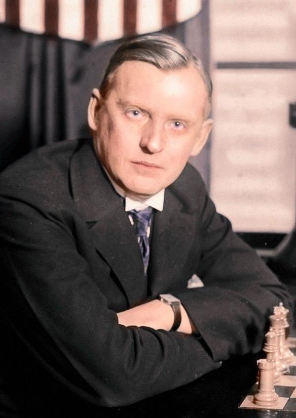 Alexandre Alekhine Color