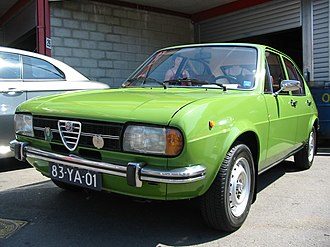 Alfa Romeo Alfasud - First series Alfasud