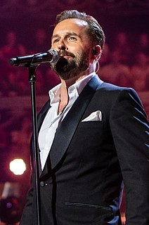 Alfie Boe English actor and singer