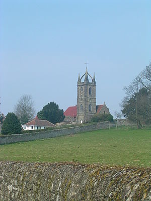 Tillington, West Sussex - Image: All Hallows, Tillington