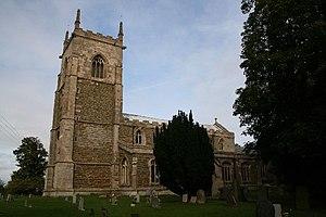 Croft, Lincolnshire - Image: All Saints' church, Croft, Lincs. geograph.org.uk 65257