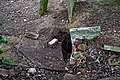 All Saints Church, Berners Roding, Essex neglected destroyed grave.jpg