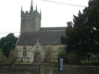 Sutton Benger village in the United Kingdom