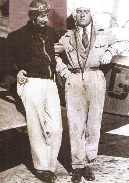 Almásy László és Zichy Nándor első felfedező útja repülőn - 1931. augusztus 21, Mátyásföld, Budapest (1)
