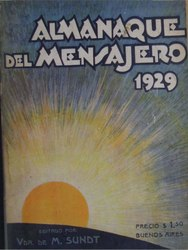 Español: Almanaque del Mensajero