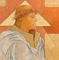 Aloys Wach - Christ with crown of thorns and triangular halo.jpg