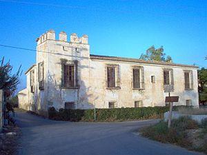 Alqueria - Alqueria del Moro, in Benicalap, Valencia.