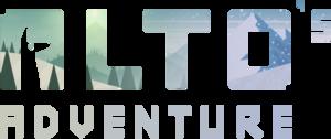 Alto's Adventure - Image: Alto's Adventure logo