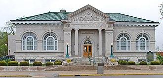 National Register of Historic Places listings in Ionia County, Michigan - Image: Alvah N Belding Memorial Library Belding Mi
