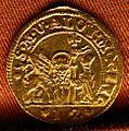 Alvise IV mocenigo, marchetto in oro da 1 zecchino, 1768-78.jpg
