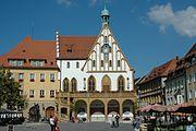 Amberg Marktplatz-Rathaus