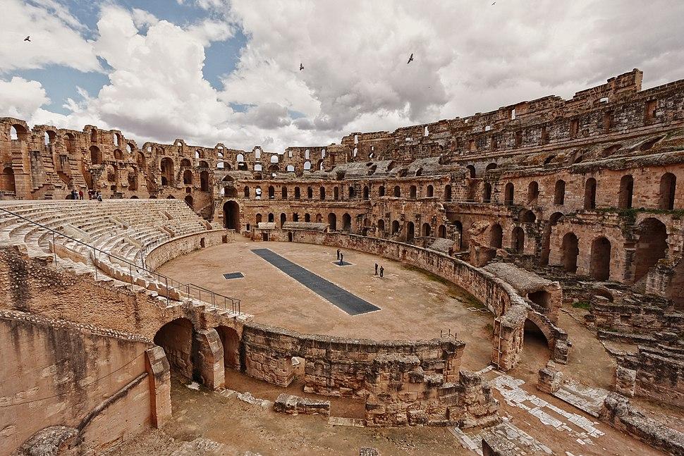 Amphitheater at El Djem