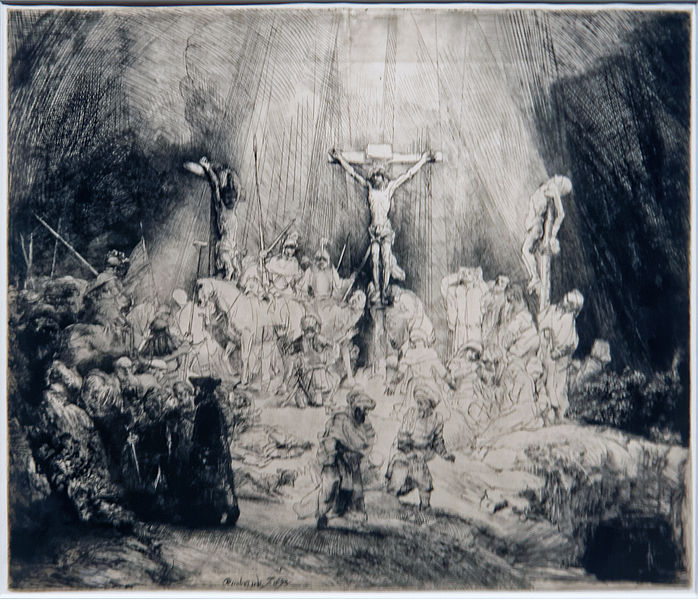 File:Amsterdam - Rijksmuseum - Late Rembrandt Exposition 2015 - The Three Crosses 1653 D.jpg