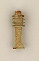 Amulet pendant, djed sign MET 74514514.jpg