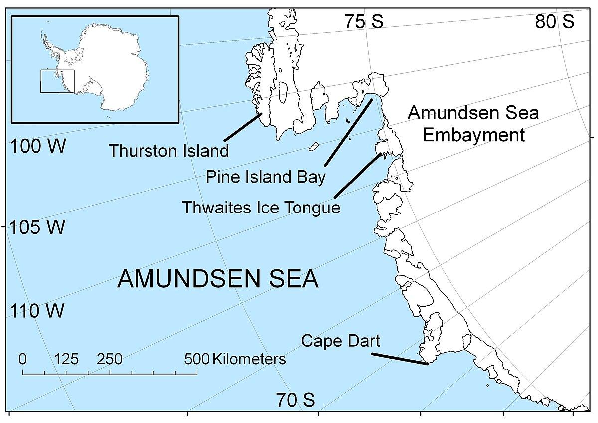 Bellingshausen - sea-riddle: description, description, study