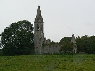 Port-en-Bessin-Huppain - Image: Ancienne église de Villiers sur Port à Huppain