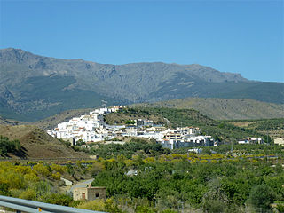 Abla Place in Andalusia, Spain