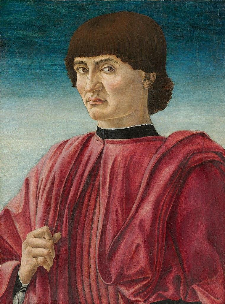 File:Andrea del castagno, ritratto maschile, washington ...