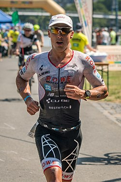 beim Ironman Germany, 2017