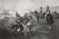 Angelo Jank - 6. Feldbatterie 'Anselm Bauer' des IV. Artillerie-Regiments im Treffen vor Weissenburg am 4. Aug.1870, 1909.png