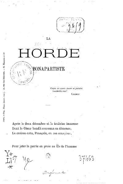 File:Anglemont - La Horde bonapartiste, 1875.djvu