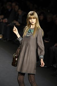 Abbey Lee Kershaw for Anna Sui FW 2010.