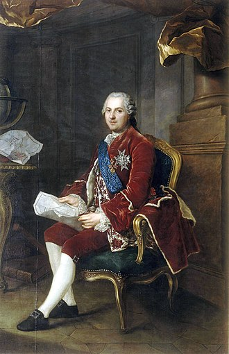 Louis, Dauphin of France (son of Louis XV) - Image: Anne Baptiste Nivelon, Louis de France, dauphin (1764)