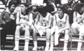 Annie Tribble with players (Taps 1977).png