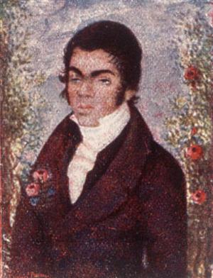 António Feliciano de Castilho - António Feliciano de Castilho at the age of 26 (1826).