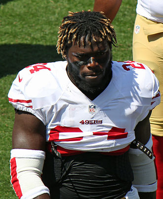 Anthony Dixon - Dixon with the 49ers in 2012