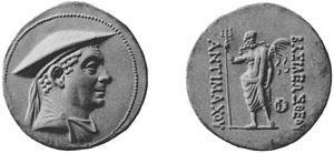 Antimachus I - Coin of Antimachus.