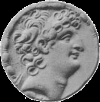 Cleopatra Selene of Syria - Image: Antiochus VIII face