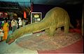 Apatosaurus - Dinosaurs Alive Exhibition - Science City - Calcutta 1995-June-July 405.JPG
