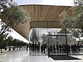 Apple Park - Visitor Center - Side view - November 2017.jpg