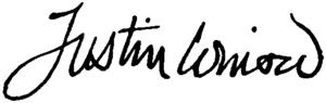 Justin Winsor - Image: Appletons' Winsor Justin signature
