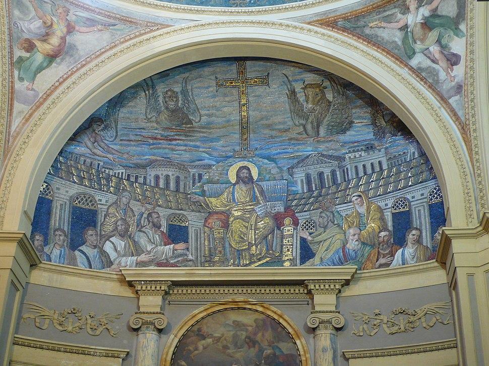 Apsis mosaic, Santa Pudenziana, Rome W2