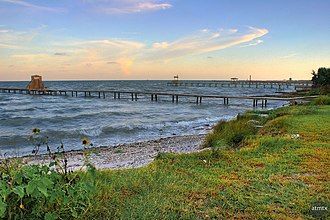 Aransas Bay - Piers near Fulton