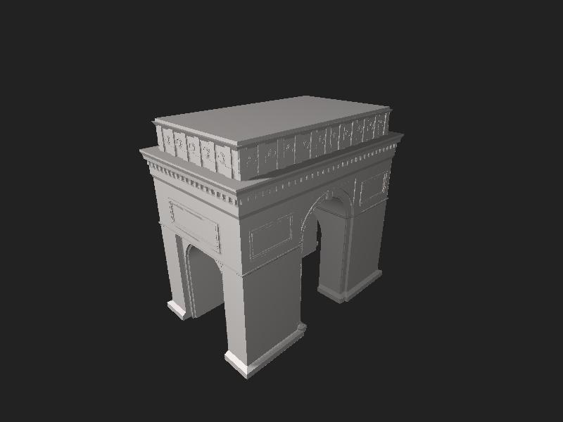 File:Arc de Triomphe.stl